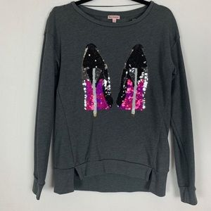 Juicy Couture Sequence High Heel Sweater
